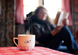 Heisser Tee und ein gutes Buch